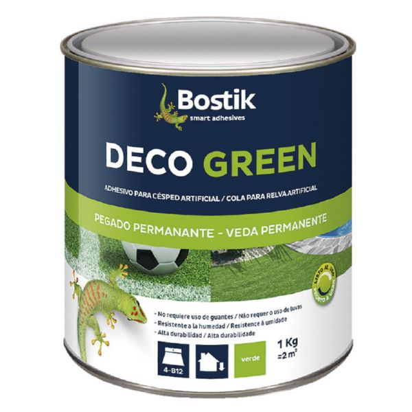 Adhesivos césped Deco Green Bostik.